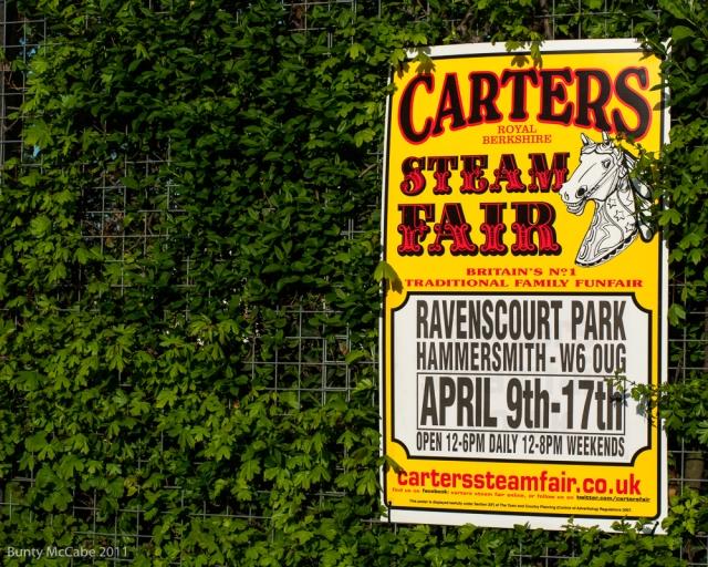 Carter's Steam Fair, Hammersmith